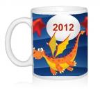Шаблон 2012 Летящий дракончик