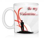 Шаблон День св.Валентина Be my Valentine