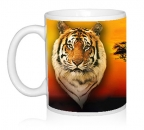 Шаблон Африканский тигр