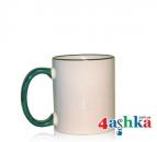 Чашка цветная