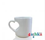 Чашка белая ♥