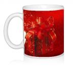 Шаблон День св.Валентина Красный бантик
