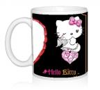 Шаблон День св.Валентина Hello Kitty