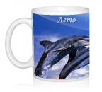 Шаблон Дельфины